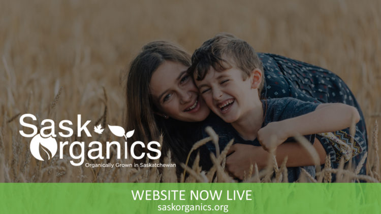 SaskOrganics Website Now Live!