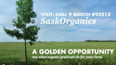 SaskOrganics at Farm Progress Show