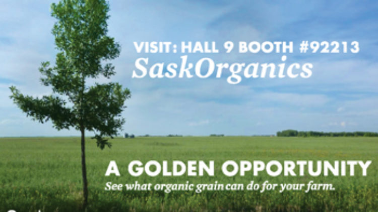 SaskOrganics at Farm Progress Show