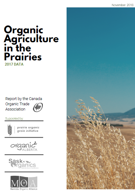 Just Released! COTA 2017 Organic Agriculture on the Prairies Data Report
