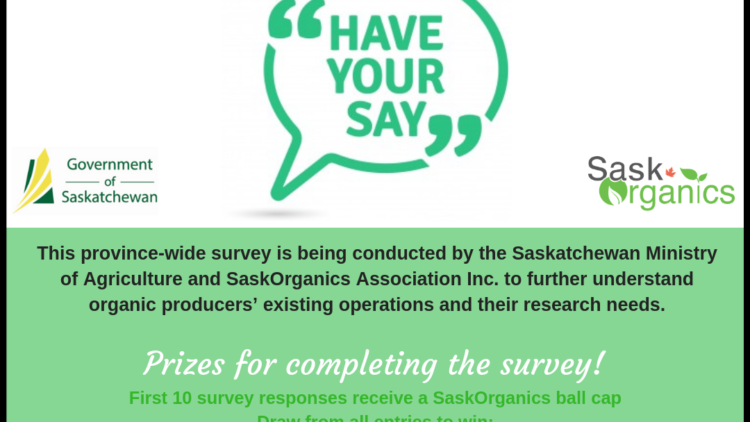 2018-19 Saskatchewan Provincial Survey of Organic Producers
