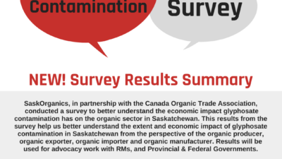Survey Results: Economic Impact of Glyphosate Contamination